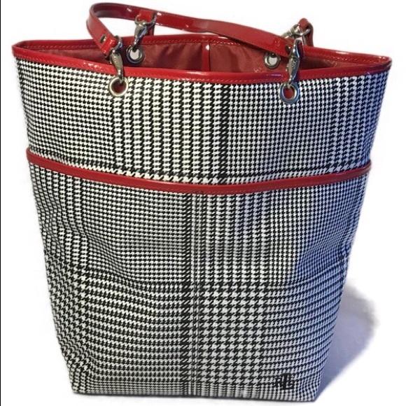 Ralph Lauren Checkered Tote Bag. M 5aaeb5f8a6e3ea120108242e 037e821e2971e